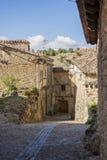 Via Calatanazor, Soria, Spagna Immagine Stock