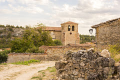 Via Calatanazor, Soria, Spagna Immagine Stock Libera da Diritti