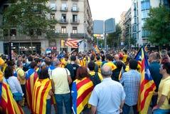 Via Catalana Fotografia Stock Libera da Diritti