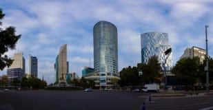 Via CDMX di panorama di Città del Messico Fotografia Stock Libera da Diritti