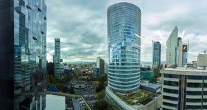Via CDMX di panorama di Città del Messico Fotografie Stock