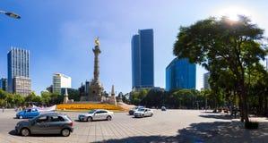 Via CDMX di panorama di Città del Messico Immagine Stock
