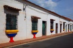 Via colombiana Immagini Stock Libere da Diritti