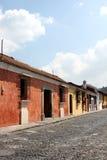 Via coloniale Immagine Stock