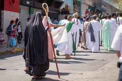 Via Crucis Celebration Royalty Free Stock Photos
