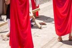 Via Crucis Celebration Royalty Free Stock Images