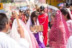 Via Crucis Celebration Stock Image
