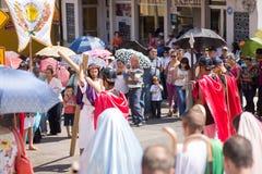 Via Crucis Celebration Royalty Free Stock Photo