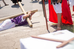 Via Crucis Celebration Stock Photo