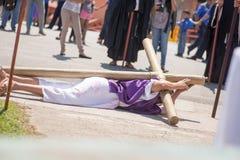 Via Crucis Celebration Stock Images