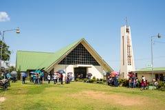 Via Crucis Celebration / San Vito Catholic Church Stock Photography