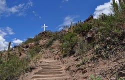 Via Crucis in Chilecito Stock Photos