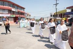 Via Crucis-Viering Stock Fotografie