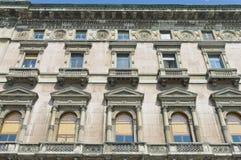 Via Dante street at Milan, Italy Royalty Free Stock Photos