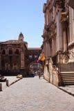 Via dei Crociferi, Catania Royalty Free Stock Images