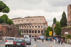 Via dei Fori Imperiali Royalty Free Stock Image