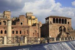 The Via dei Fori Imperiali in Rome, Italy Stock Photo