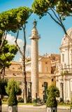 Via dei Fori Imperiali, Rome Stock Photo