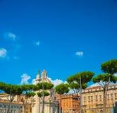 Via dei Fori Imperiali, Rome Stock Image