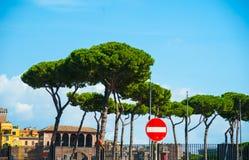 Via dei Fori Imperiali, Rome Royalty Free Stock Photography