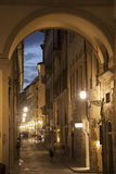 Via dei Georgofili Street, Florence Royalty Free Stock Photo