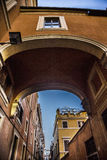 Via dei greci Rome Royalty Free Stock Photo
