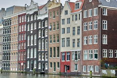 Via del canale amsterdam netherlands fotografie stock