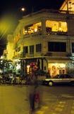 Via del centro Phnom Penh, Cambogia Fotografie Stock