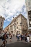 Via del Corso in Rome Royalty Free Stock Image