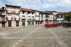"""via del  di de Sao Tiago†di """"Praca - Guimaraes - Portogallo fotografie stock libere da diritti"""