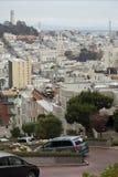 Via del Lombard, San Francisco Immagini Stock Libere da Diritti
