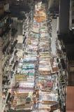 Via del tempio di Hong Kong Fotografia Stock