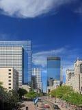 Via del viale di Nicollet a Minneapolis Fotografia Stock