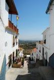 Via del villaggio, Alora Fotografia Stock