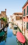 Via dell'acqua a Venezia Fotografia Stock Libera da Diritti