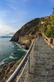 Via dell amor of Cinque Terre Royalty Free Stock Photography