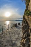 Via dell amor of Cinque Terre Stock Photography