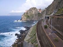 The 'Via dell'Amore' in Cinque Terre, Italy. Stock Photo