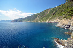 Via dell'Amore Riomaggiore Royalty Free Stock Images