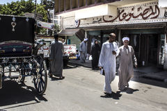 Via dell'Egitto Fotografie Stock