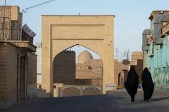 Via della città di Kashan Fotografia Stock Libera da Diritti