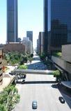 Via della città di Los Angeles Fotografia Stock