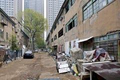 Via della città di Shenyang Immagine Stock
