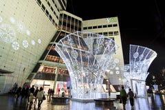 Via della Corea Dongdaemun Fotografia Stock
