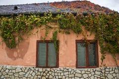 Via della fortezza a Cluj, Romania fotografia stock libera da diritti