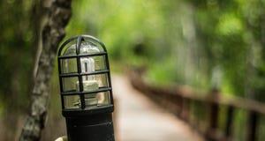 Via della lampada Fotografia Stock