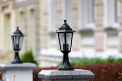 Via della lanterna Fotografie Stock Libere da Diritti