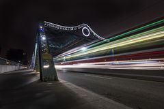 Via della regina del ponte Fotografia Stock