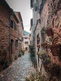 Via della Spagna fotografie stock
