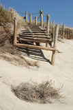 Via della spiaggia Immagini Stock